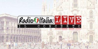 Radio Italia Live in piazza Duomo a Milano