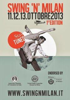 Da venerdì 11 a domenica 13 ottobre: swing a Milano
