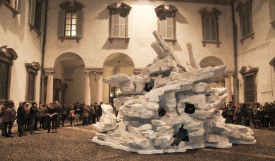 Fault Lines di Allora and Calzadilla in mostra a Palazzo Cusani Milano