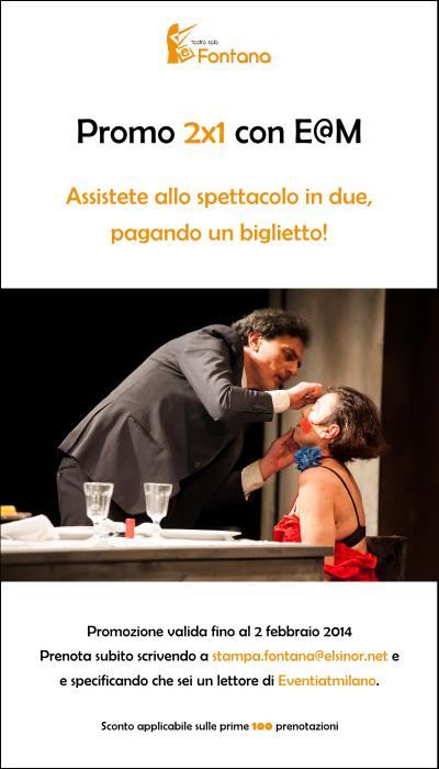 Teatro nel weekend Milano: commedia di Luigi Pirandello al Sala Fontana