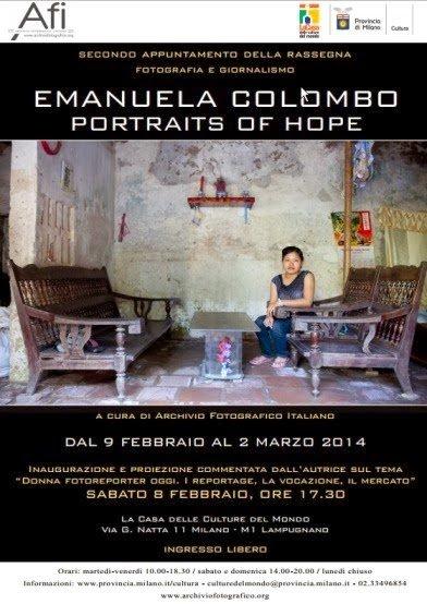 reportage fotografici a Milano: Portraits of Hope a Milano sabato 8 febbraio