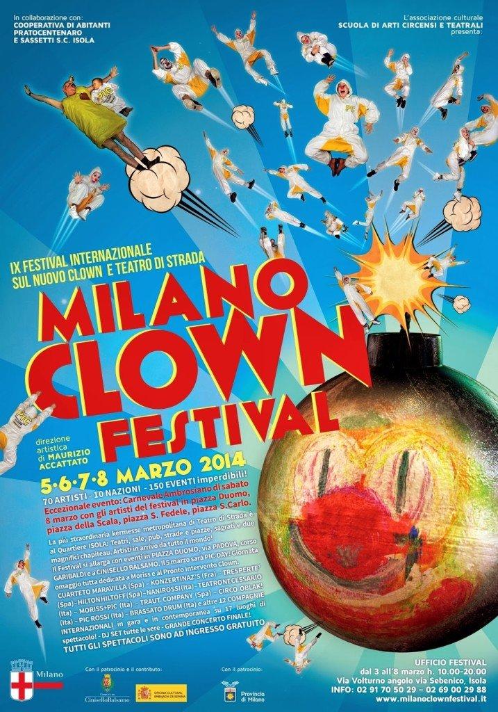 Milano Clown Festival a Milano anche nel weekend