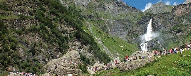 Le cascate in Lombardia: Cascate del Serio