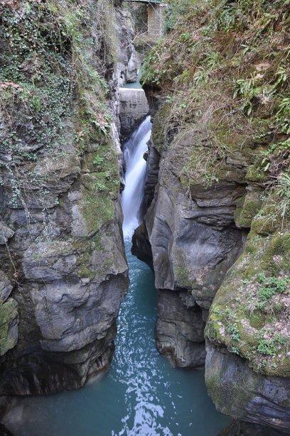 Speciale turismo: le Cascate in Lombardia. L'Orrido di Bellano.