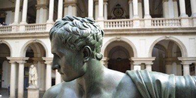 Pinacoteca di Brera infopoint Cortili Aperti 2021