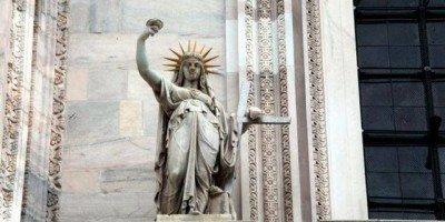 Statua della Libertà - Duomo di Milano