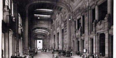 Galleria delle carrozze - Stazione Centrale di Milano