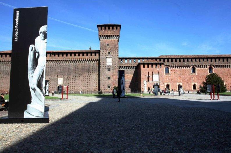 Visita il Castello Sforzesco di Milano