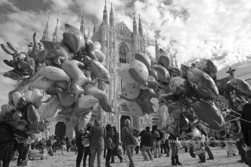 Duomo di Milano. Foto © Alessandro Silvestri. Altre foto di Ale su https://www.flickr.com/photos/alexanderburana/