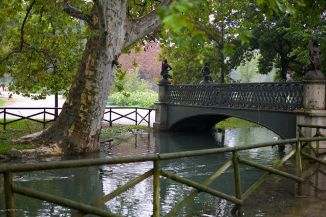 I luoghi più romantici di Milano – Ponte delle Sirenette, Parco Sempione