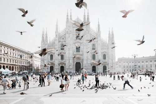 Piazza Duomo a Milano
