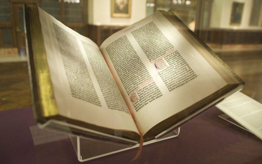 Bibbia di Gutenberg, New York Public Library