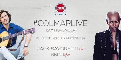 Skin e Jack Savoretti alle Officine del Volo di Milano per #COLMARLIVE