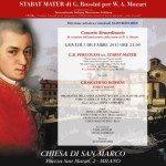 Locandina STABAT MATER di G. ROSSINI per W. A. Mozart: 3 dicembre 2015