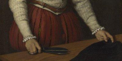 Giovan Battista Moroni, Il Sarto (particolare), 1570 ca. – Londra, National Gallery