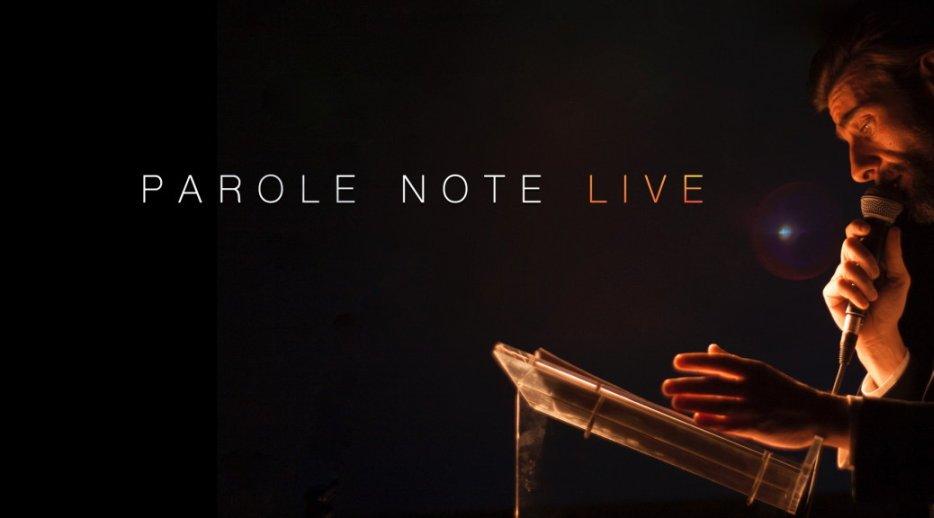 Parole Note live - Il 15 dicembre al Enterprise Hotel di Milano