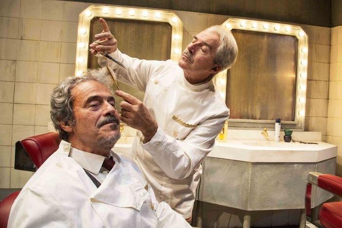 Quei due - in scena al Teatro Manzoni di Milano fino al 17 aprile
