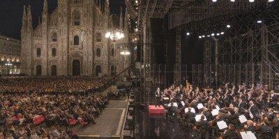 Concerto per Milano con la Filarmonica della Scala