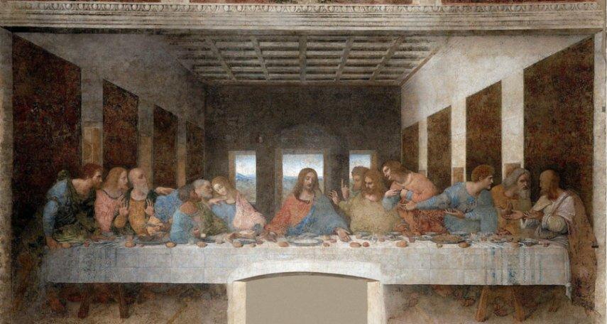 Il cenacolo (o Ultima Cena) - Leonardo da Vinci