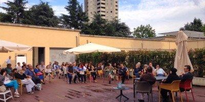 aperitivo galleria campari al MIC di Milano