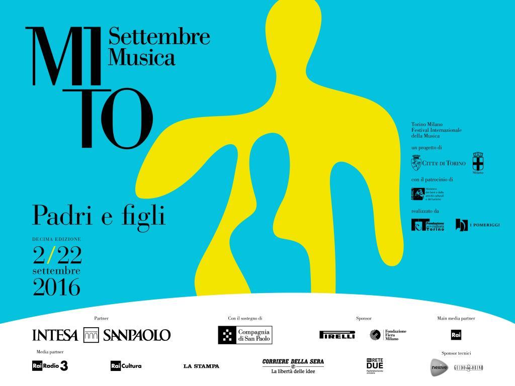 MiTo Settembre in musica dal 2 al 22 settembre a Milano e Torino