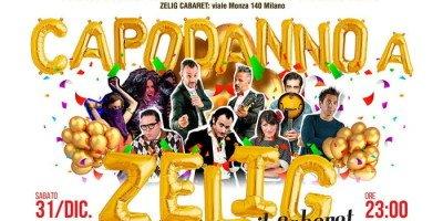 Cosa fare a Capodanno a Milano: Zelig Cabaret