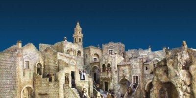 A Palazzo Marino, fino al 6 gennaio 2016, il Presepe monumentale dei Sassi di Matera