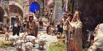 Fino al 6 gennaio l'incanto del Presepe della Basilicata a Palazzo Marino