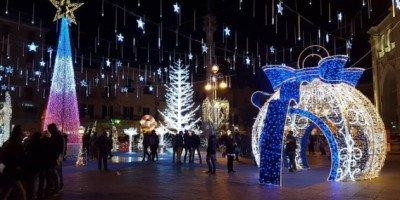 Villaggio di Natale in Piazza Sant'Oronzo a Lecce