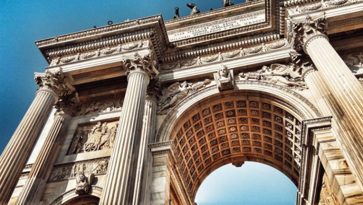 Arco della Pace, Milano. Storia, curiosità e aneddoti.