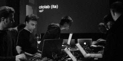 Opere audiovisive laser OTOLAB_JesterN in Auditorium San Fedele a Milano