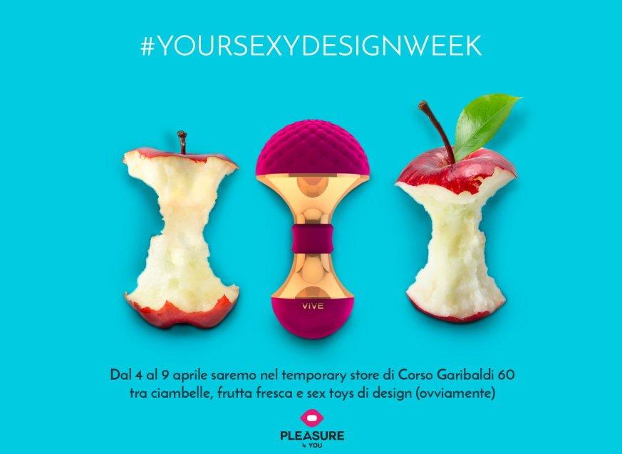 Milano Design Week 2017: Pleasure 4 You presenta Your Sexy Design Week in Corso Garibaldi 60