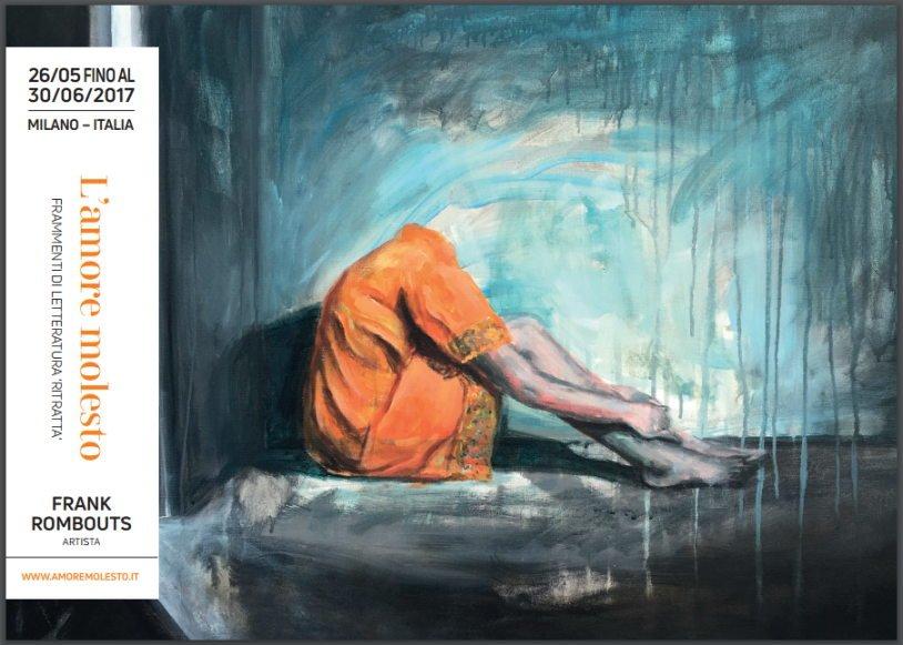 26 maggio a Milano: vernissage della mostra L'amore molesto. Frammenti di letteratura 'ritratta'.