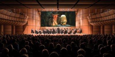 Indiana Jones è tornato per una nuova avventura all'Auditorium di Milano!