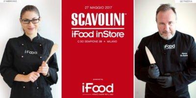 Sabato 27 maggio a Milano: Show-cooking con i blogger di iFood Lina D'Ambrosio e Marco De Padova allo Scavolini Store Sempione