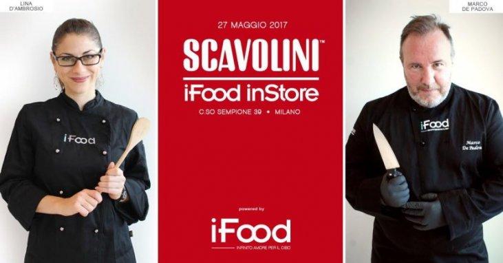 Show-cooking con i blogger di iFood allo Scavolini Store ...