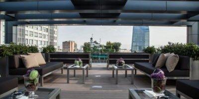 Venerdì 9 giugno a Milano: Red Sunset Party - Rooftop dell'Hotel LaGare