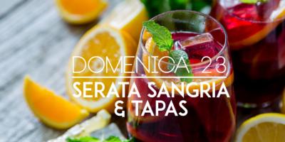 Domenica 23 luglio a Milano: Serata Sangria e Tapas allo Spencer Smoked Soul