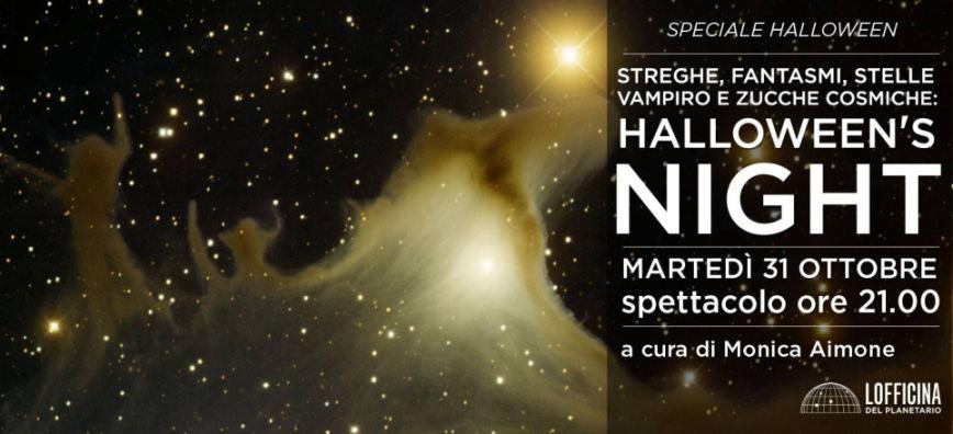 Milano, cosa fare ad Halloween: Halloween's Night al Civico Planetario Ulrico Hoepli