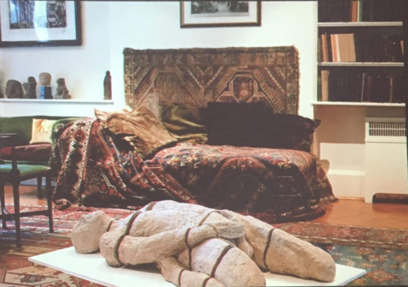 """Milano opening della mostra: Jane McAdam Freud """"L'Autoritratto Impossibile. Freud's study merge"""""""