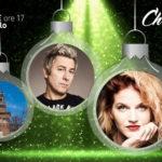 Chiara e Dj Ringo al Karaoke di Natale a Milano