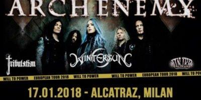 Arch Enemy in concerto a Milano
