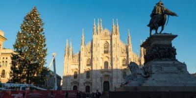 Albero di Natale in piazza Duomo a Milano: cerimonia d'accensione mercoledì 6 dicembre
