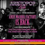 Venerdì 5 gennaio: AristoPop Night al Plastic Club di Milano