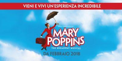 Milano: dal 13 febbraio Mary Poppins il Musical al Teatro Nazionale