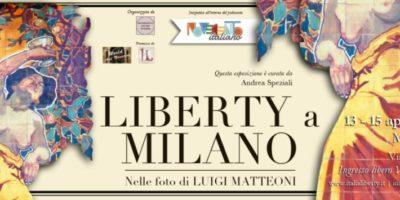 Liberty a Milano: il Liberty fotografato da Luigi Matteoni in mostra dal 13 al 15 aprile