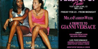 Milan Fashion Week AristoPop Night al Plastic Club