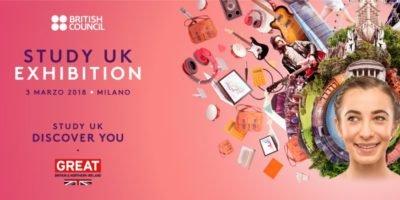 cosa fare Sabato 3 marzo a Milano: Study UK Exhibition 2018