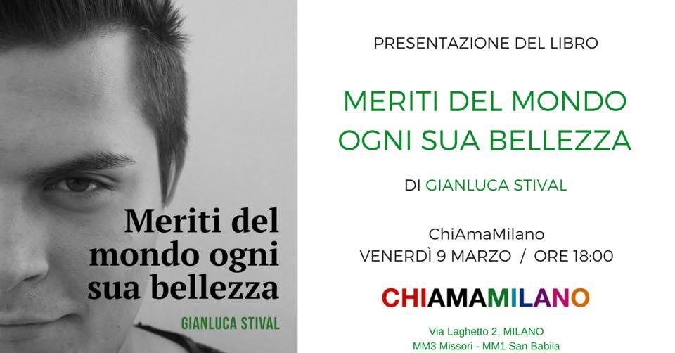 milano libro Gianluca Stival presentazione