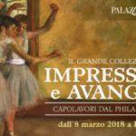 mostra milano impressionismo avanguardie